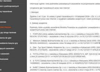 Listopad 2018. Jaki nowy bukmacher pojawi się w Polsce?