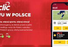 Polska strona BetClic zapowiedziana!