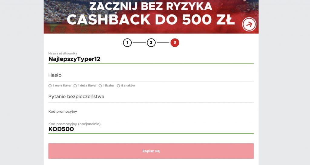Betclic bukmacher online - 500 PLN jako cashback na start!