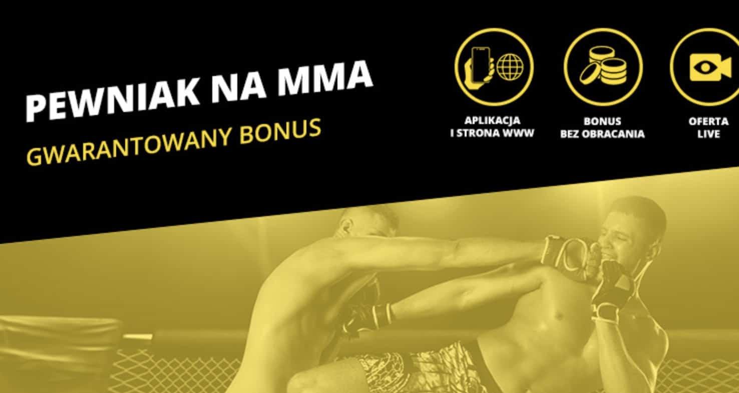 KSW 50 z bonusem 20 PLN od Fortuny!