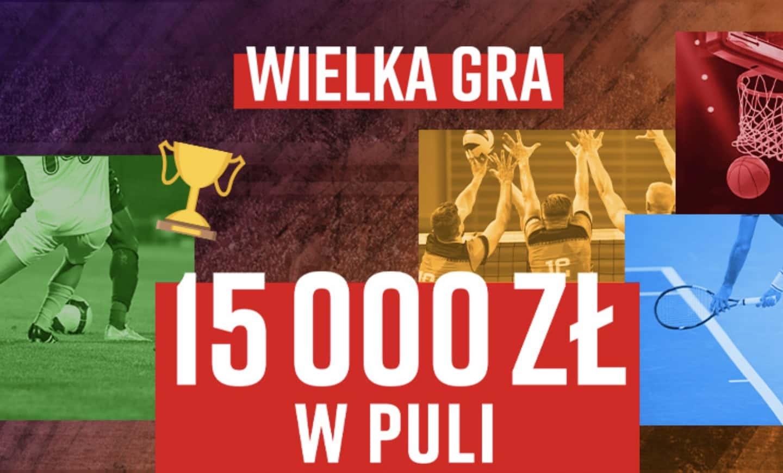 Wielka Gra w Betclic. 15.000 PLN w najnowszej promocji bukmachera!