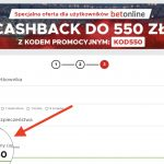 Betclic kod promocyjny. KOD550 – kasa na start to nawet 550 PLN! Jedyny taki cashback w Polsce!