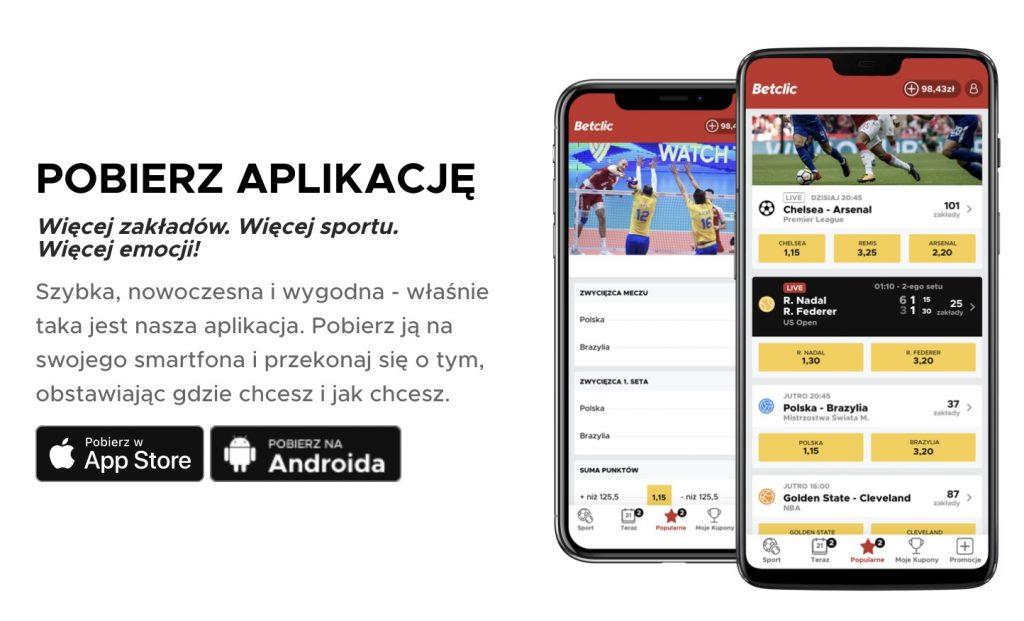 Betclic aplikacja mobilna apk
