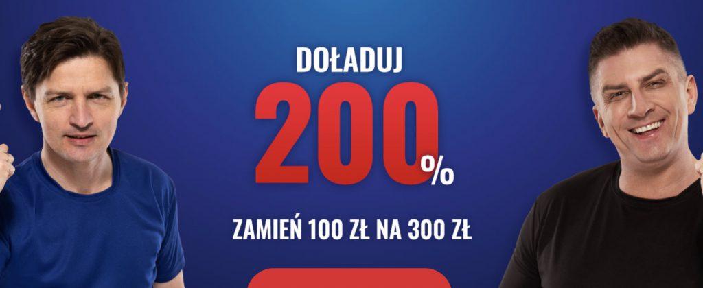 Bonus Etoto - 200% premii